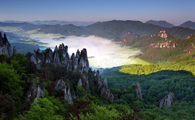piękny inwersi krajobrazu lato obraz stock