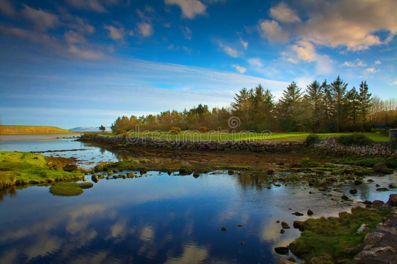 Piękny Irlandzki Seascape obrazy royalty free