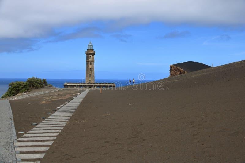 Piękny Isla Faial przy Azores Portugalia fotografia stock