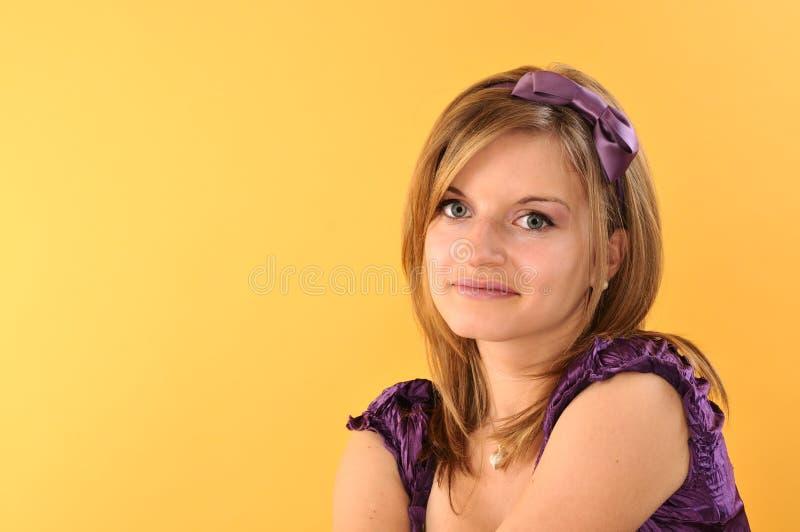 piękny ja target400_0_ dziewczyny nastoletni obraz stock
