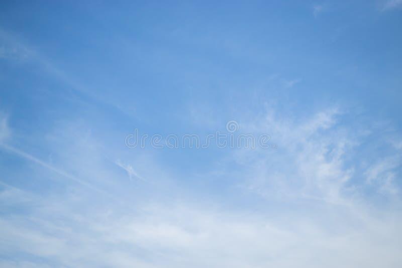 Piękny jasny niebo zdjęcie stock