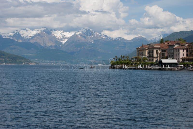 Piękny jezioro Como zdjęcie stock