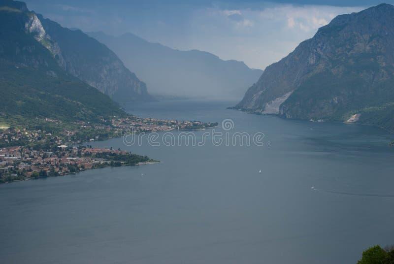Piękny jezioro Como obraz stock