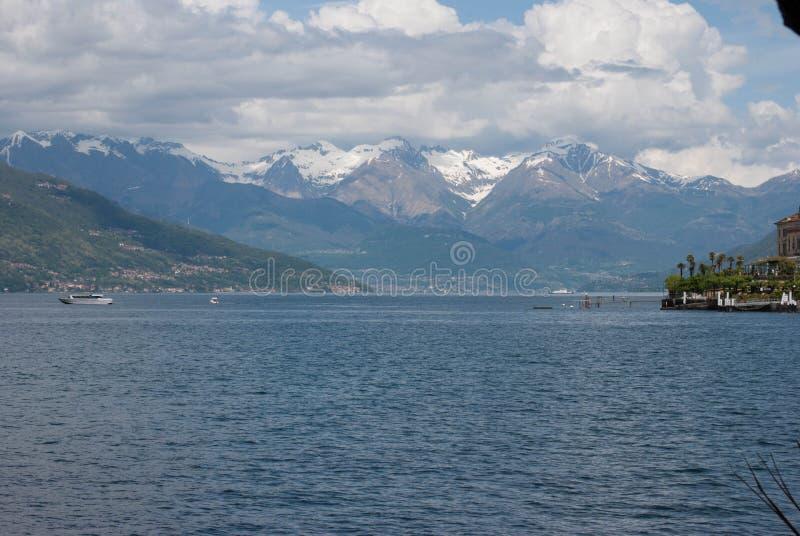 Piękny jezioro Como zdjęcie royalty free