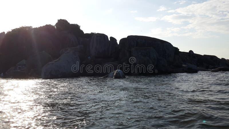 Piękny jezioro wiktorii fotografia stock