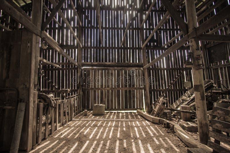 Piękny Kentucky gospodarstwa rolnego ranek W stajni obraz royalty free