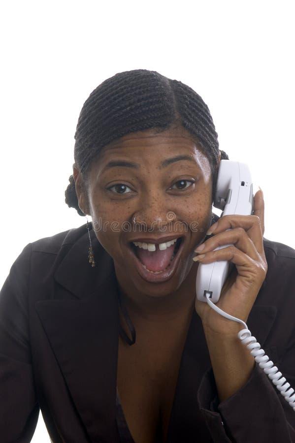 piękny klienta usług represenatative niespodziewanej zdjęcie royalty free