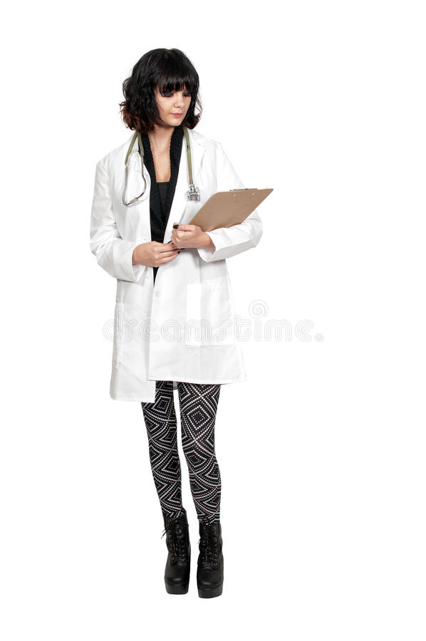 Piękny kobieta chirurg zdjęcie stock