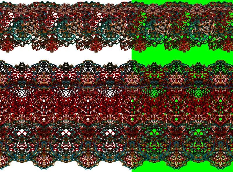 piękny kolorowy koronkowy przedmiot fotografia royalty free
