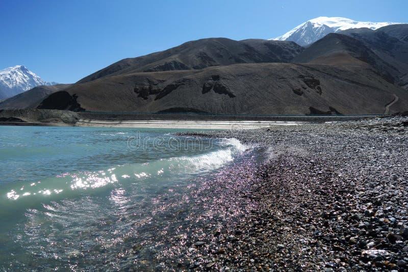 Piękny krajobraz jezioro i ` ojca ` fotografia royalty free