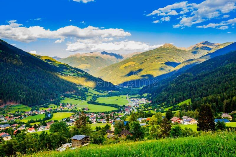 Piękny krajobraz od Tyrol, Austria zdjęcia stock