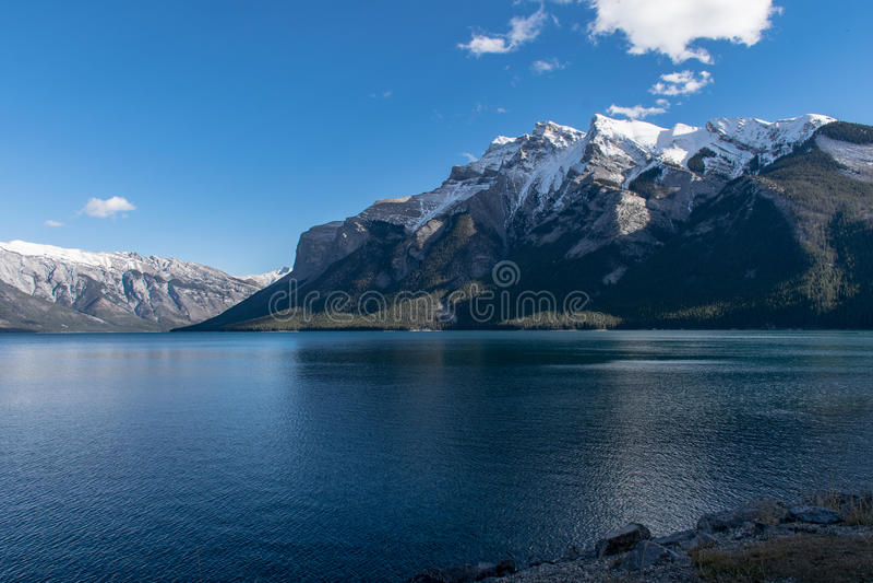 Piękny krajobraz w Alberta obraz stock