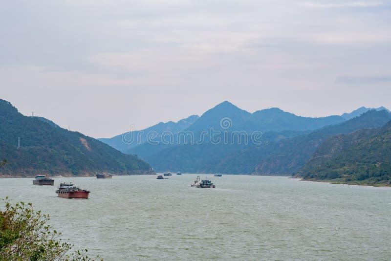Piękny krajobraz wokoło Lingshan społeczności kultury kwadrata zdjęcia royalty free