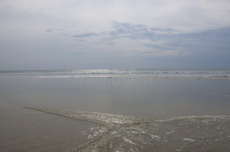Piękny krajobraz wybrzeże ocean indyjski fotografia stock