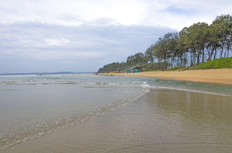 Piękny krajobraz wybrzeże ocean indyjski zdjęcie royalty free