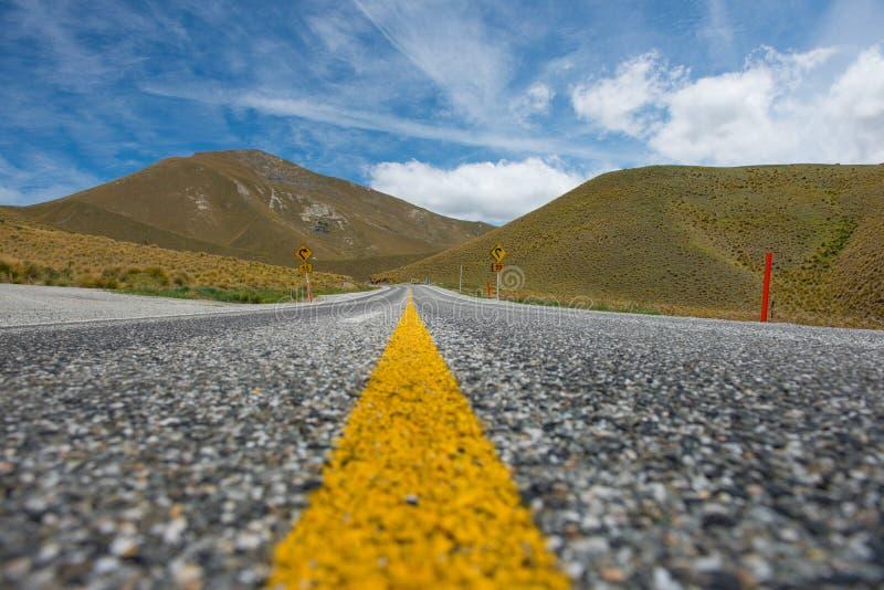 Piękny krajobrazowy Nowa Zelandia. obraz stock