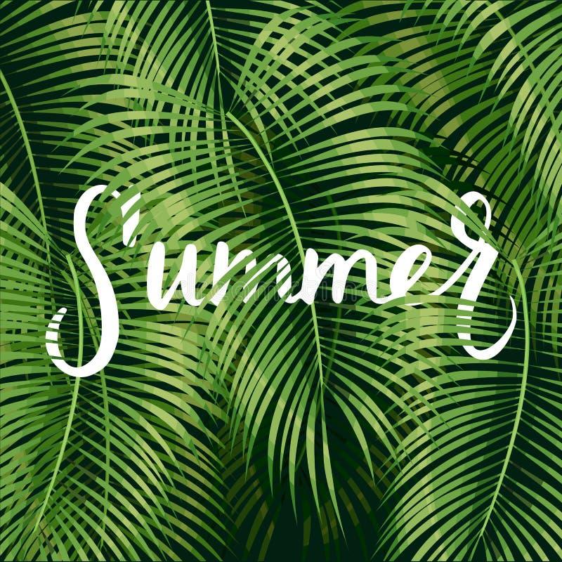 Piękny kwiecisty lato ilustracja wektor