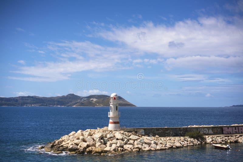 Piękny marina Kasa, Turcja obraz royalty free