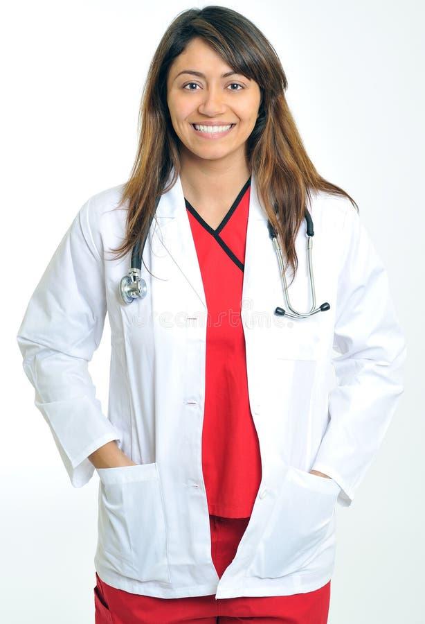 piękny medyczny wielo- fachowy rasowy obrazy royalty free