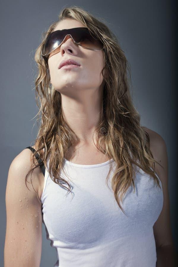 piękny mody kobiety model obraz stock