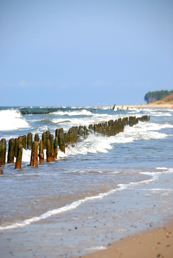 piękny morze fotografia royalty free