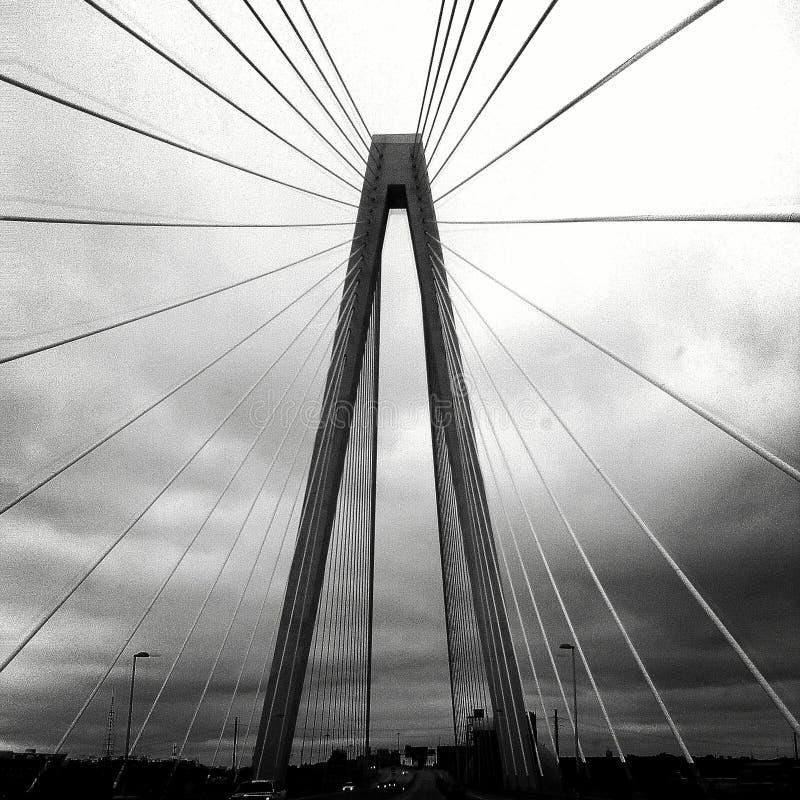 Piękny most w America fotografia stock
