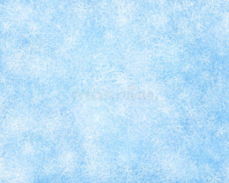 Piękny mroźny zimy tło royalty ilustracja