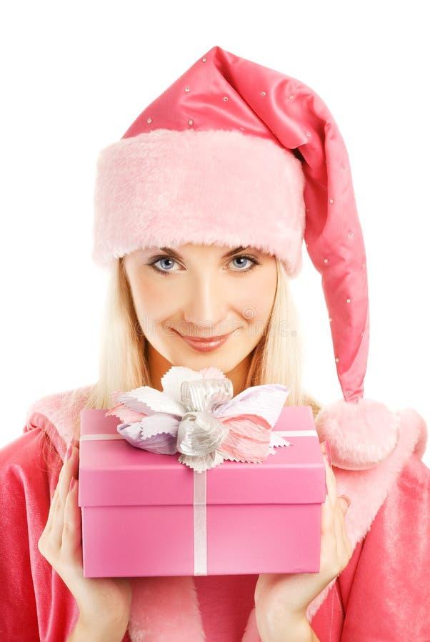 piękny mrs Santa obraz stock