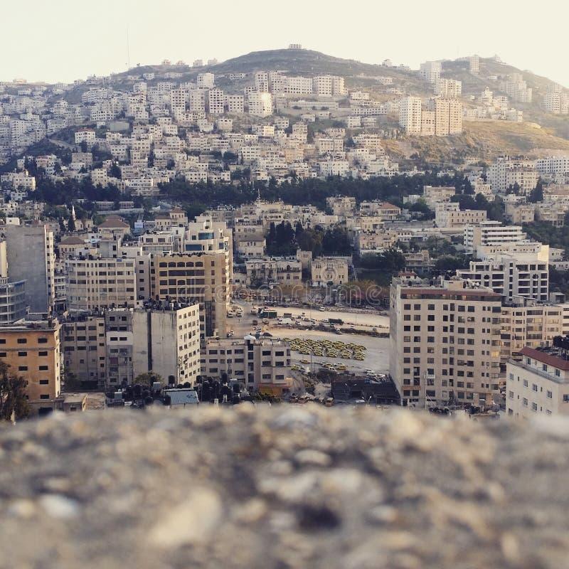 Piękny Nablus obraz royalty free