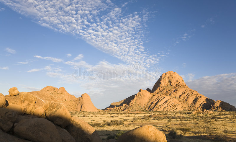 piękny Namibia obrazy stock