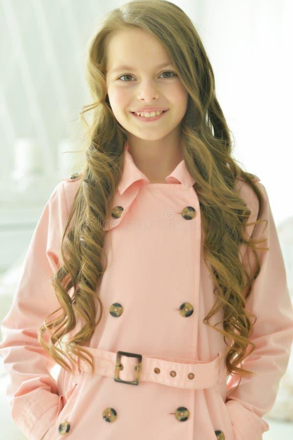 Piękny nastoletniej dziewczyny zakończenie zdjęcie royalty free