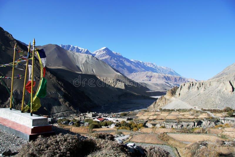 Piękny Nepal fotografia stock