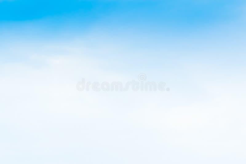 Piękny niebieskiego nieba tła szablon Z Niektóre przestrzenią dla wkładu obraz royalty free