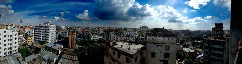 Piękny niebo Na Dhaka obraz stock