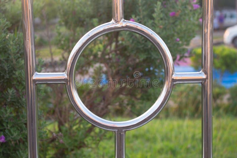 Piękny nierdzewny w parku zdjęcia royalty free