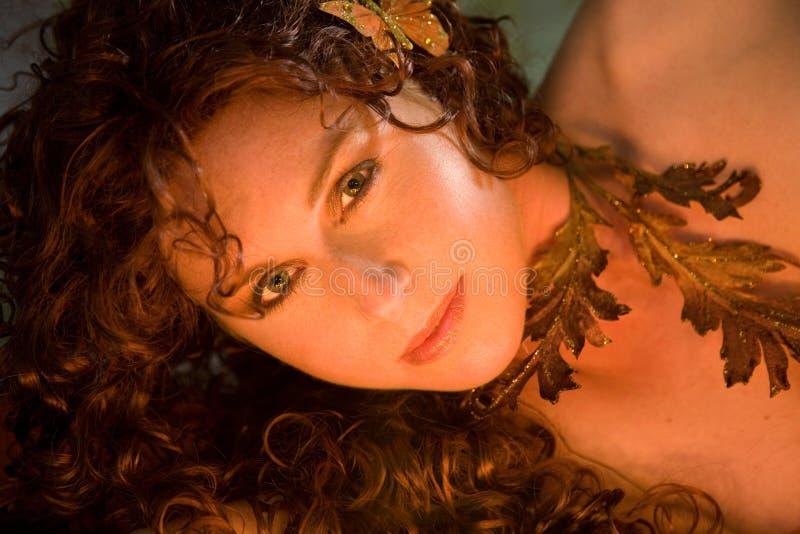 piękny nimfa zdjęcie stock
