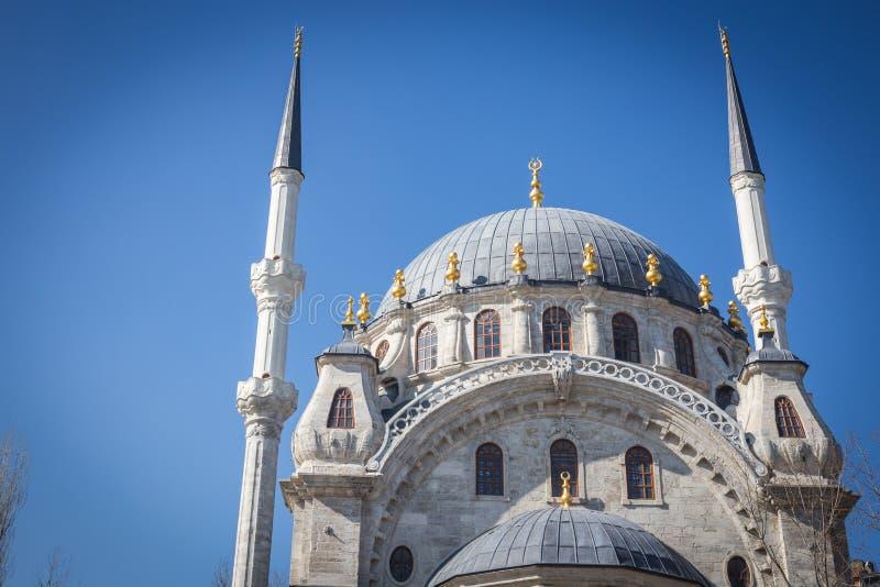 Piękny Nusretiye meczet, Istanbuł, Turcja fotografia stock