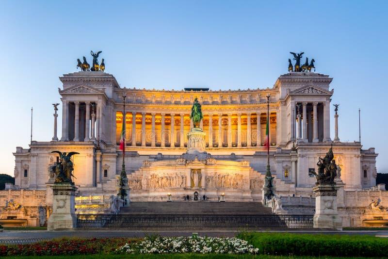 Piękny ołtarz Fatherland (Altare della Patria, znać jak zdjęcie royalty free
