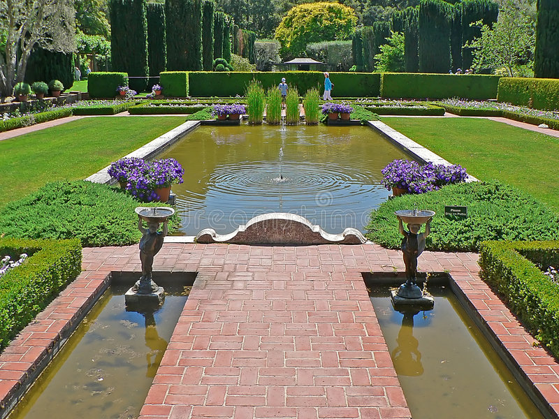 piękny ogród fotografia stock