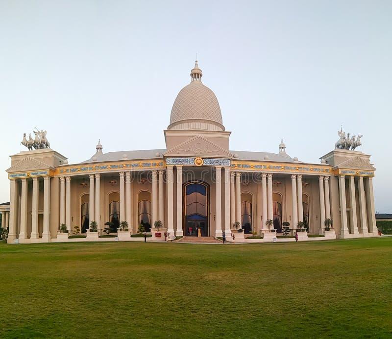 Piękny pałac lubi hotel w India zdjęcie royalty free