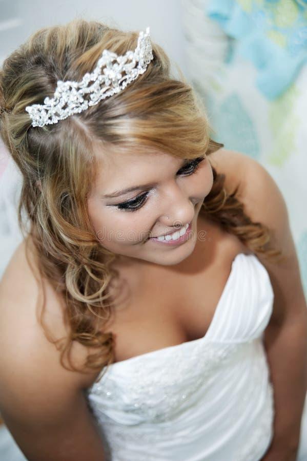 piękny panny młodej piękny zakończenie zdjęcie royalty free