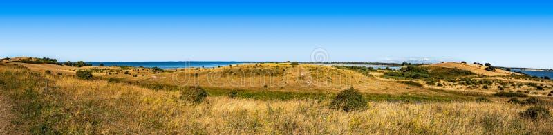 Piękny panoramiczny krajobraz od Dani zdjęcie stock
