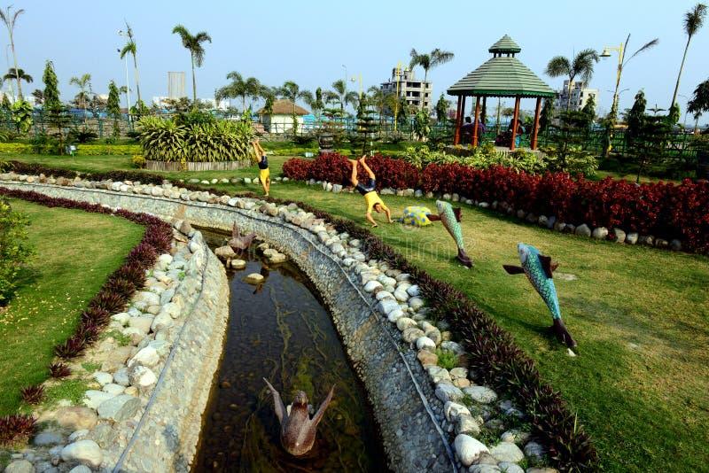 Piękny park zdjęcie royalty free