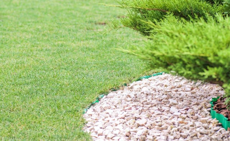 Piękny parka ogród w lecie obrazy royalty free