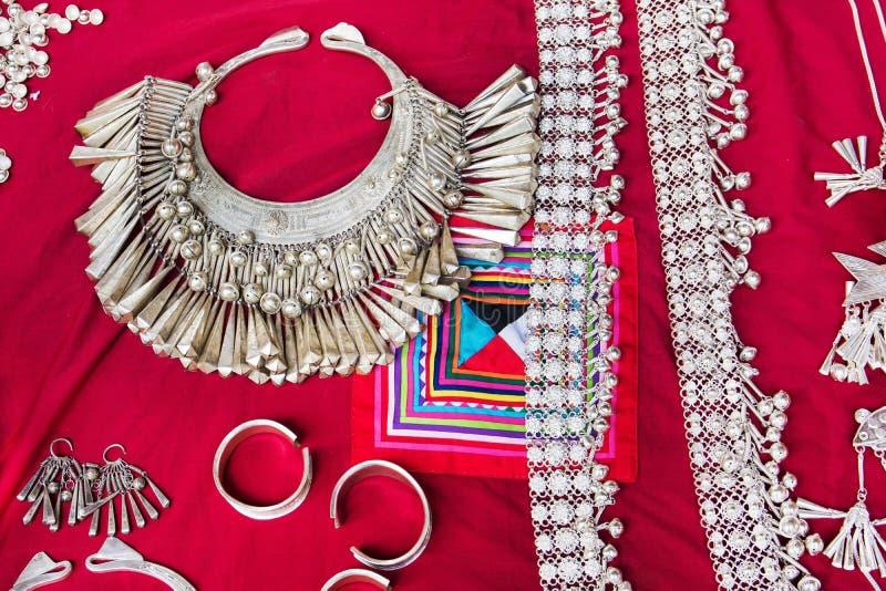 Piękny plemienny ornament Wzg?rza plemienia ornamentu t?o obrazy royalty free