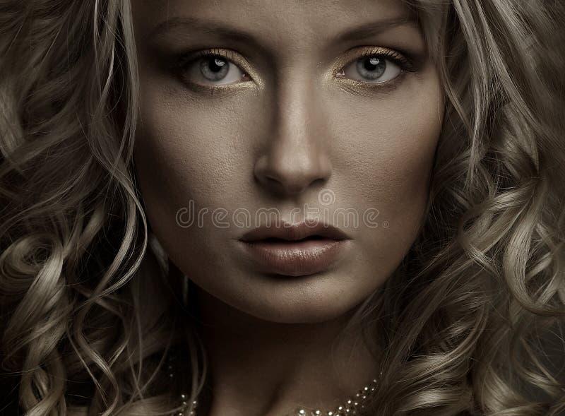 Piękny portret zdjęcie royalty free