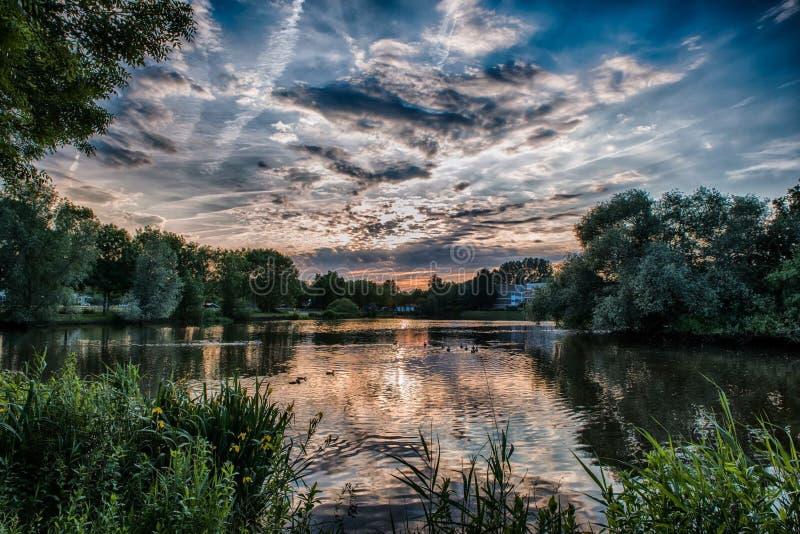 Piękny powietrze obrazy royalty free