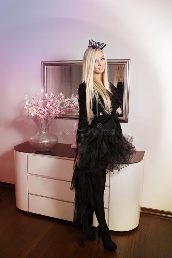 Piękny princess obrazy royalty free