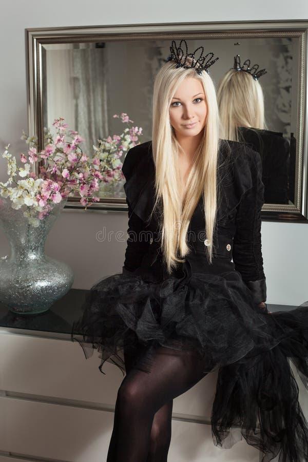 Piękny princess obraz stock