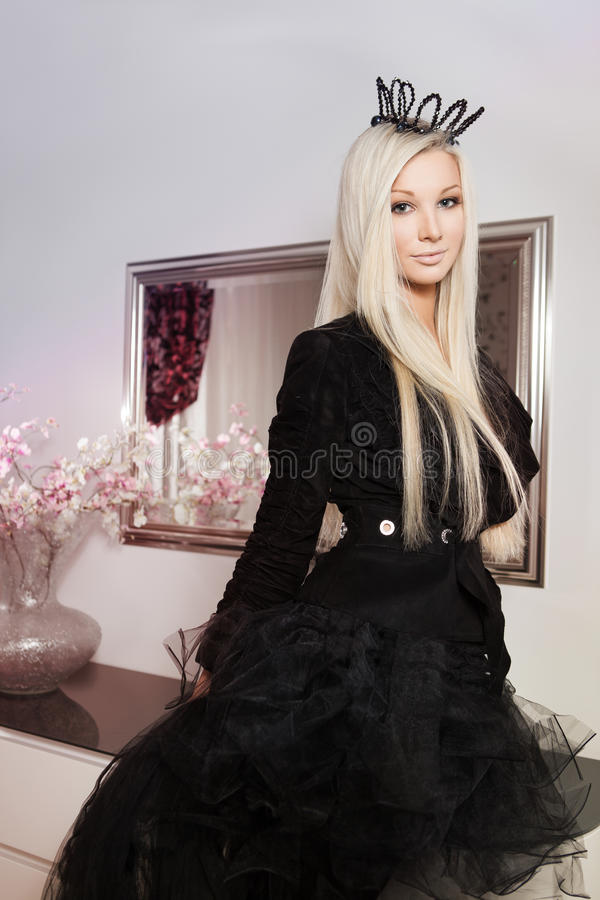 Piękny princess fotografia royalty free
